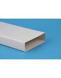Kunststof ventilatiekanaal 110x54mm Buis L=100 mm