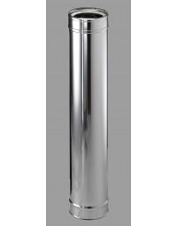 Kachelpijp DW ICS 25 RV 80/130 pijp L = 1000 mm