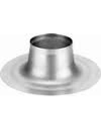 Aluminium plaklaat platdak Ø 119 mm