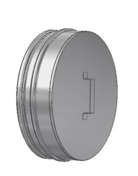 Kachelpijp DW ICS 25 RV Deksel voor T-stuk 100/150