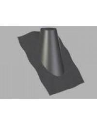 Kachelpijp Concentrisch US RVS/RVS 100/150 mm loodslab 45°-60°