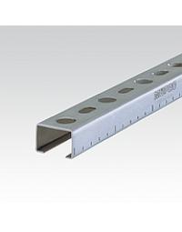 MPC-Systeemrail 27/18 L=2000 mm Geg.