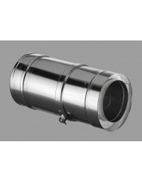 Kachelpijp DW ICS 25 RV 100/150 Paspijp 275-365 mm