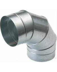 Spiralo segmentbocht 90° Ø 300 mm