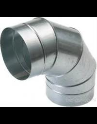 Spiralo segmentbocht 90°  Ø 600 mm