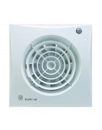 Toilet / Badkamerventilator Silent 100 CHZ Hygro + Timer