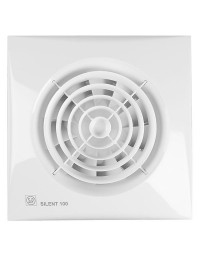 Toilet / Badkamerventilator Silent 100 CHZ Visual