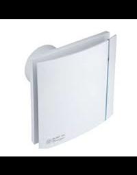 Toilet / Badkamervent. Silent 200 Design CHZ Hygro + Timer