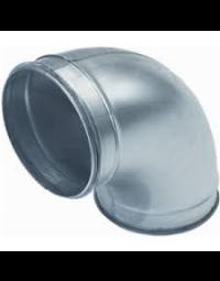 Ventilatiekanaal Spiralo gladde bocht 90° Ø 80 mm