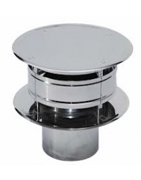 RVS Ø 130 mm Trekkap (Trekkende kap)