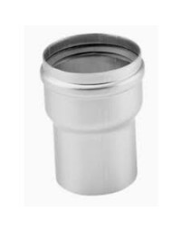 Dikwandig. Aluminium verloopstuk vergrotend Ø 100 - 110 mm