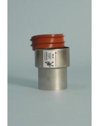 RVS QA Flex verloop met afdichtring 60-80 mm