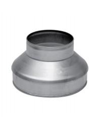 Spiralo kort verloopstuk 400-250 mm