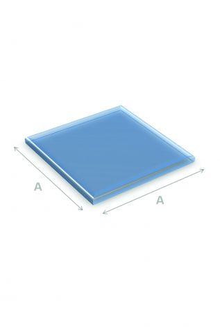 Vloerplaat Glas Vierkant 80 x 80 cm 6 mm dik