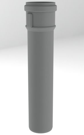 BH PP R.G. Grijs Ø 60 mm pijp L = 250 mm