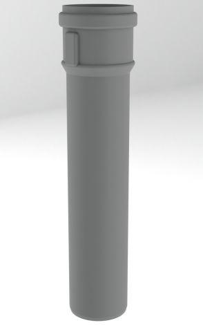 BH PP R.G. Grijs Ø 80 mm pijp L = 500 mm