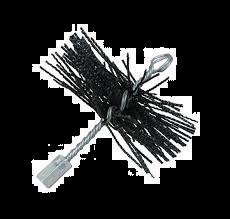 Staalborstel rond Ø 200 mm