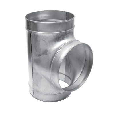 Spiralo centrisch T-stuk 90° Ø 355 mm