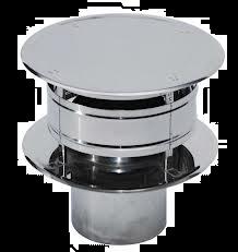 RVS Ø 100 mm Trekkap (Trekkende kap)