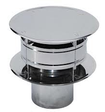 RVS Ø 125 mm Trekkap (Trekkende kap)