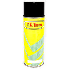 Spuitbus Hittebestendige verf 65°C Gietijzer 400 ml (Kleurnummer 970)