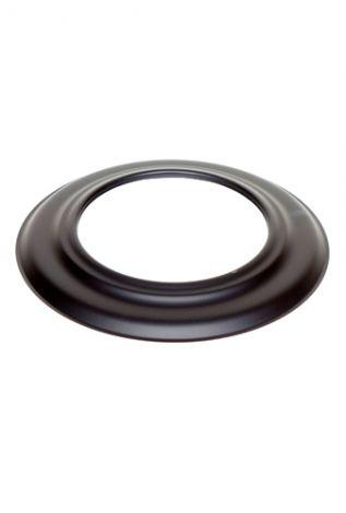 Zwart 2 mm Ø 160 mm Rozet