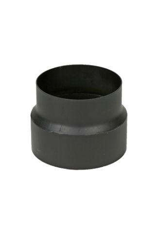 Zwart 2 mm verloop Ø 122 - 130 mm
