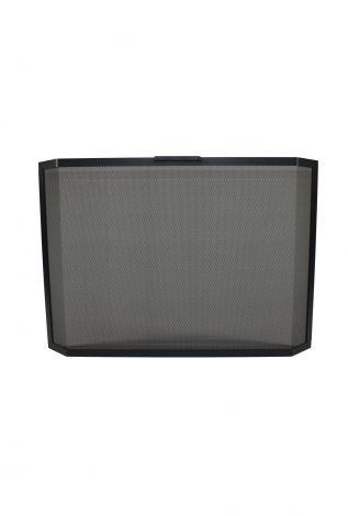 Vonkenscherm zwart 125 / 425 Panorama (Hier zit een levertijd op)
