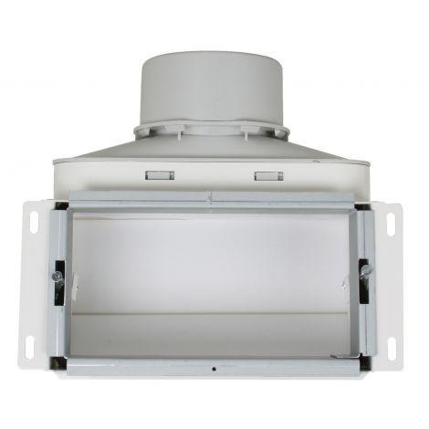 Uniflexplus Wandcollector boven 1 x Ø 90 mm