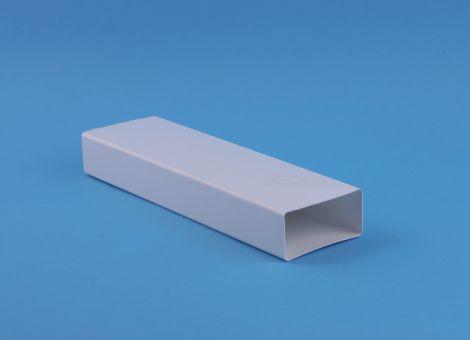 Kunststof Kanaal 220x90 mm buis L= 1000 mm