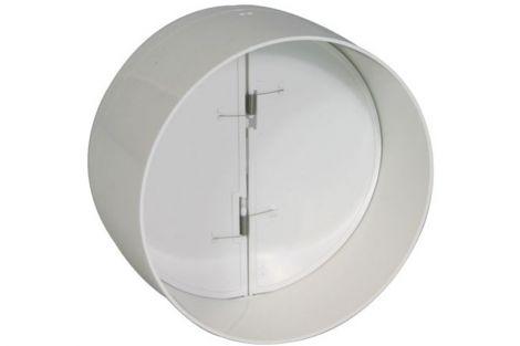 Kunststof Kanaal Vlinderklep Ø 125 mm (2 klepjes)