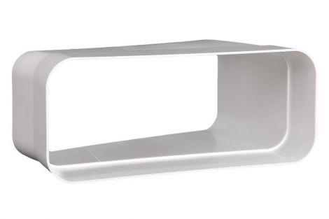 Kunststof Kanaal Hoekstuk Eco+ 169x77 mm horizontaal 15º