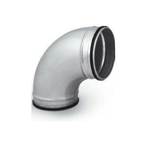 Ventilatiekanaal Spiralo gladde bocht 90° Ø 125 mm SAFE