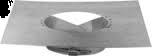 Flex RVS Panflex afdekplaat Ø 100 mm