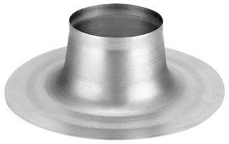 Aluminium plakplaat platdak Ø 123 mm