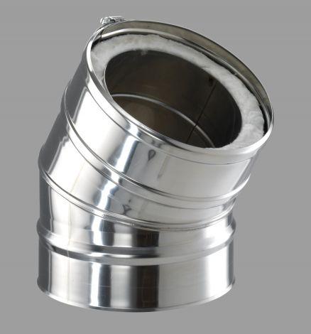 ICS 25 RVS Ø 150/200 mm bocht 30°