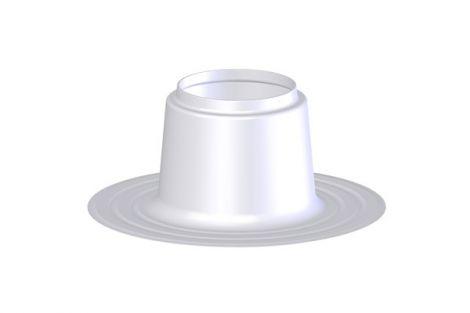 Coxvent 300 plakplaat enkelwandig Ø 150 - 160 mm