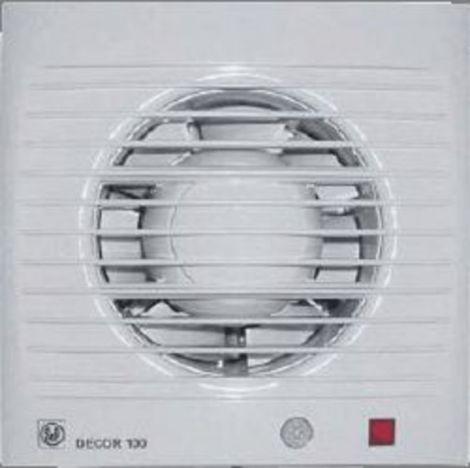 S&P Toilet / Badkamerventilator Decor 100  CDZ Bewegingssensor