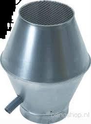 Spiralo deflectorkap Ø 355 mm