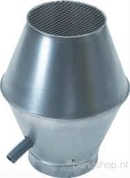 Spiralo deflectorkap Ø 180 mm