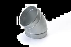 Spiralo gladde bocht 30°  Ø 160 mm