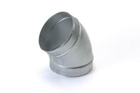 Spiralo gladde bocht 30°  Ø 180 mm