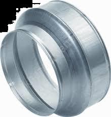 Spiralo kort verloopstuk Ø 180 - Ø 160 mm
