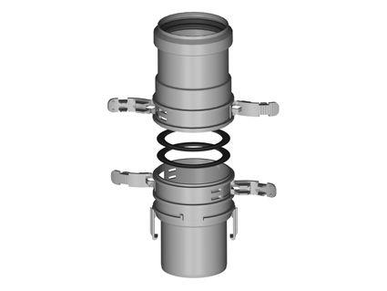 BH Miniflex Ø 60mm koppelset spieflex/flexmof
