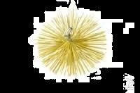 Schoorsteenveeg nylonborstel rond Ø 150 mm