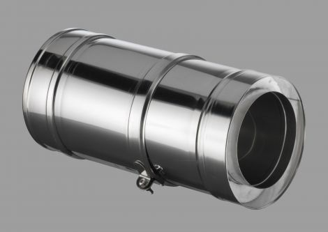 ICS 25 RVS Ø 80/130 mm Paspijp 190 - 250 mm