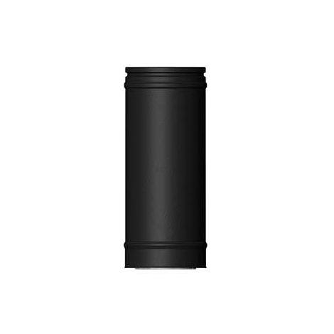 ICS 25 RVS Ø 180/230 mm pijp L = 250 mm Zwart