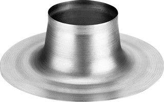 Plakplaat platdak voor ventilatiedoorvoer Ø 180 mm