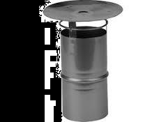 Flex RVS Panflex regenkap Ø 100 mm
