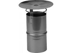 Flex RVS QA regenkap Ø 60 mm